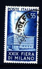 ITALIA REP. - 1951 - 29° Fiera di Milano - 55 L. - Palazzo PP.TT. alla fiera di