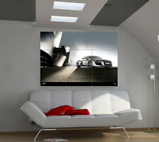 Audi R8 V10 large giant cars poster print photo mural wall art ib521