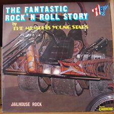 MEMPHIS YOUNG STARS THE FANTASTIC ROCK'N ROLL STORY VOL. 4 MOTO COVER FRENCH LP