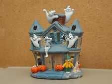 "PartyLite Halloween ""HAUNTED TEALIGHT HOUSE"" (P7311) In Box"