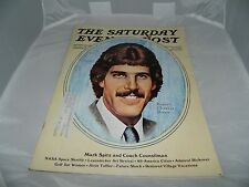 VTG The Saturday Evening Post May-June 1973 Issue Mark Spitz Robert Charles Howe