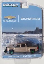 GREEN MACHINE 2015 CHEVROLET SILVERADO Z/71 WITH SNOW PLOW AND SALTER