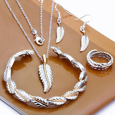 Promotion Price Color Seperation Feather Lady N+B+R+E Set ZS112,925 Silver