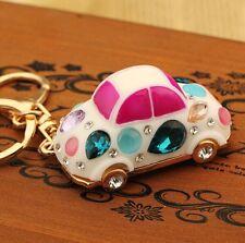 Idea Gift car Keychain Crystal Keyring Key Ring Chain Bag Charm Pendant  EA377