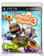 LittleBigPlanet 3 (PS3) Little Big Planet Playstation 3 Game BRAND NEW SEALED
