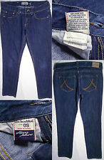 Anchor Blue Skinny Jasmine Cotton Blend Low Rise Blue Jeans Size 0 S