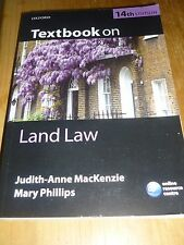 TEXTBOOK ON LAND LAW 14th EDITION. JUDITH-ANNE MacKENZIE & MARY PHILLIPS