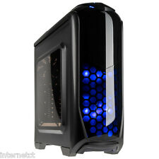 KOLINK AVIATOR GUNMETAL USB 3.0 GAMING PC CASE TOOL FREE LED ATX mATX MINI ITX