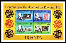 Uganda 1979 ** Bl.20 Todestag Centenary of the death of Rowland Hill [sq2894]