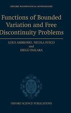 Oxford Mathematical Monographs: Functions of Bounded Variation and Free...