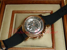 Breguet Marine II Chronograph Automatic 18kt Rose Gold 42mm Rubber 5827BR/Z2/5ZU
