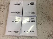 2005 Nissan Murano Service Repair Shop Workshop Manual OEM Factory 2005 *
