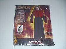 Scary Overlord Devil Demon Zombie Costume Red Black Boys Size 5-7