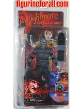 "NECA SDCC 2012 Nightmare on elm Street B&W FREDDY KRUEGER 7"" Action Figure comic"