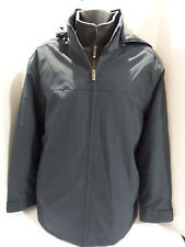 Weatherproof Men's Heavy Full Zip Ultra Tech Jacket- Navy Blue US Size M NWOT