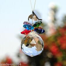 Rainbow Maker Crystal Suncatcher Hangings Crystal Glass Ornament Car Decoration