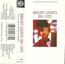 "Bright Lights, Big City (Cassette SOUNDTRACK 1988) PRINCE ""Good Love"" Used VG"