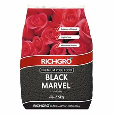 Black Marvel Rose Food 2.5kg Richgro Plant Fertiliser Organic Natural Fertilizer