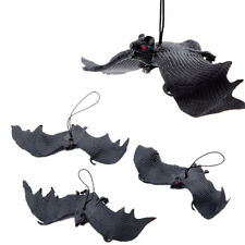 Halloween Props Rubber Bats Decor Halloween Party Hanging Decoration Adornment