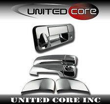 07-13 Toyota Tundra Double Cab Chrome Door Handle Cover + Chrome Tailgate Handle