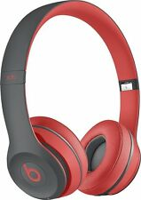 Genuine Beats Solo2 Wireless On-Ear Headphones Active Collection- Red