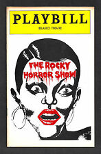 """Tim Curry """"ROCKY HORROR SHOW"""" Meat Loaf 1975 FLOP Playbill with Ticket Stubs"""