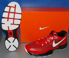 MENS NIKE LUNAR TR1 in colors UNIVERSITY RED / WHITE / BLACK SIZE 8