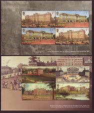 GREAT BRITAIN 2014 BUCKINGHAM PALACE PAIR OF BOOKLET PANES  FINE USED