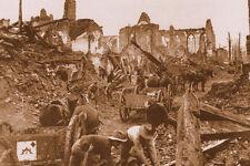WW1 - Les Australiens dans les ruines d'Ypres