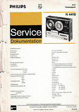 Service Manual-instrucciones para Philips n 4416