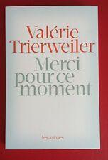 LIVRE NEUF merci pour ce moment  Valérie Trierweiler FRANCOIS HOLLANDE POLITIQUE