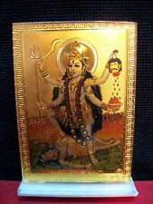 KALI MAA DURGA MATA  -FOR MANDIR, CAR DASHBOARD AND GIFT~ 2 PIECES