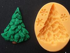 Silicone Mould CHRISTMAS TREE Sugarcraft Cake Decorating Fondant / fimo mold