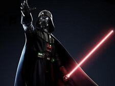 Star Wars Light Up Laser Lightsaber Adjustable Red Lightsaber Sword Kid Toy
