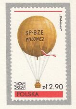 POLAND 1980 mint Postcard Cp#764 National Philatelic Exhibition AEROSPACE Poznań