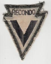 Wartime RECONDO School Broad Arrow / Special Forces Insignia