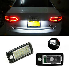 2x Error Free 18-SMD LED License Plate Light for AUDI Q7 Q5 A4 A6