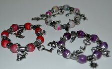 New Bracelet  with charm 3 DIFFERENT COLORS FAST FREE SHIPPING !!!