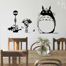 Removable Totoro Wall Stickers Children's Room Mural Decals Home Decor Art DIY