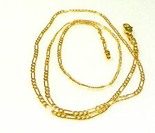 24K Yellow Gold Plated Mens Women Unisex Chain Necklace Birthday Pub Xmas 50cm