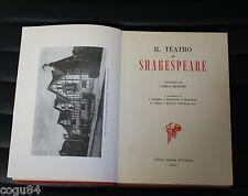 Edizione illustrata dei capolavori di  Shakespeare - II VOL - 1^ed. 1962  teatro