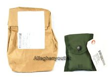 QTY (10) US Military / FIRST AID / COMPASS POUCH CARRIER CASE w/ Alice Clip NWT