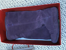 FITFLOP Amethyst Superboot Boots Tall  Suede, Size Uk 6, VGC with box
