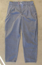 Vintage 1980s Bugle Boy Pleated Wide Baggy Men's Pants 33 M Excellent Used Clean