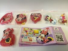 Kinder Surprise Minnie Mouse Limited Edition Complete Set CHINA 2016 MEGA RARE