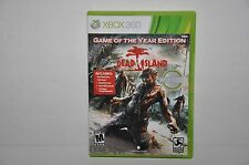 Dead Island -- Game of the Year Edition (Microsoft Xbox 360, 2012) GAME COMPLETE