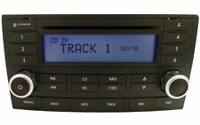 VW Touareg single CD radio. Volkswagen OEM factory original stereo