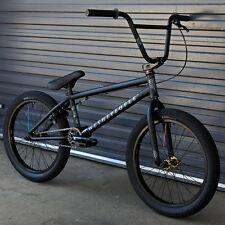 "2017 WE THE PEOPLE BMX BIKE ARCADE 20"" MATTE BLACK BICYCLE FIT CULT KINK SUBROSA"