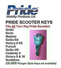 KEY fits All Pride Scooters - GoGo, Pursuit, Celebrity, Victory, Legend, Maxima
