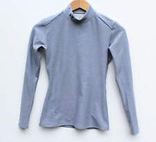 **UNDER ARMOUR- Gray Longsleeve Coldgear Mock Neck- Women's M